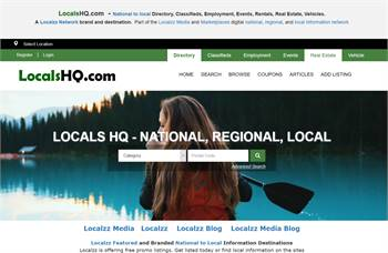 LocalsHQ.com - Directory, Classifieds, Employment, Events, Rentals, Real Estate, Vehicles