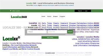 Localzz360.com  - National to local business and information listings.